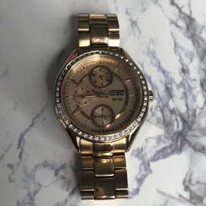 Citizens Rose Gold Watch